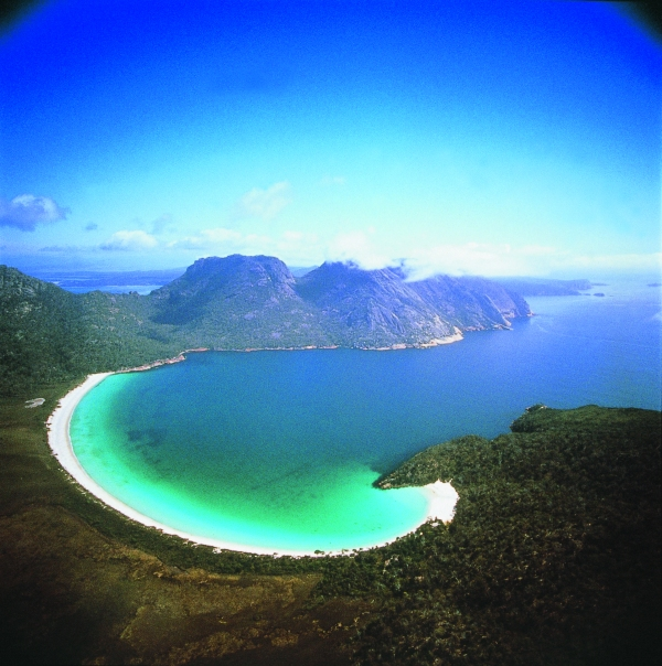 Wineglass Bay, Tasmania. Photo Source: DMCA