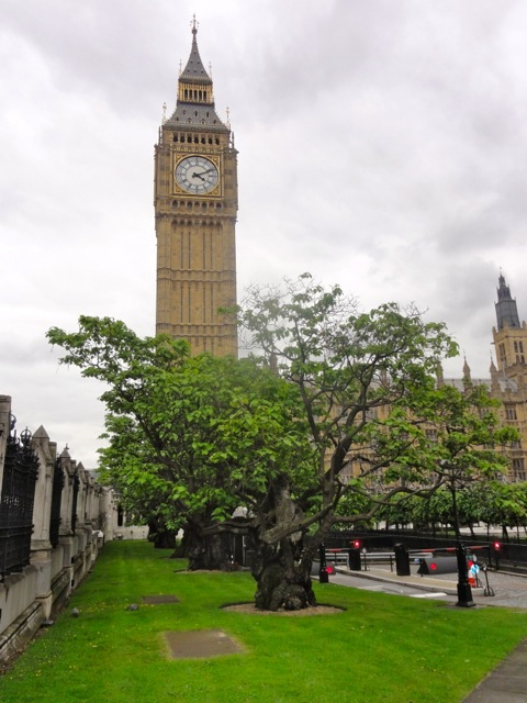 Elizabeth Tower affectionately known as Big Ben – London England