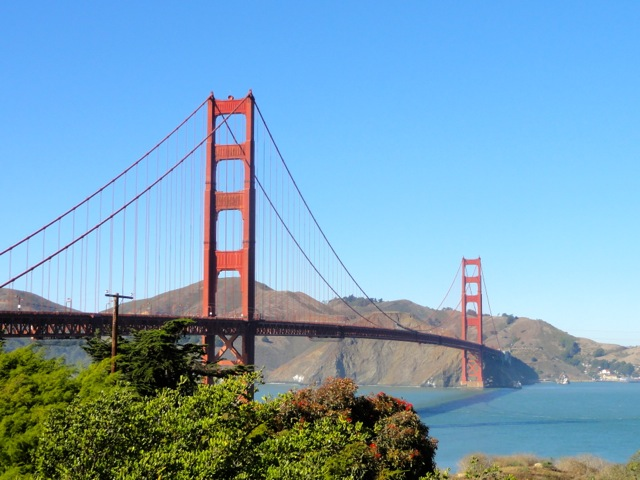 One of the most visited bridges in the United States – Gold Gate Bridge in San Francisco