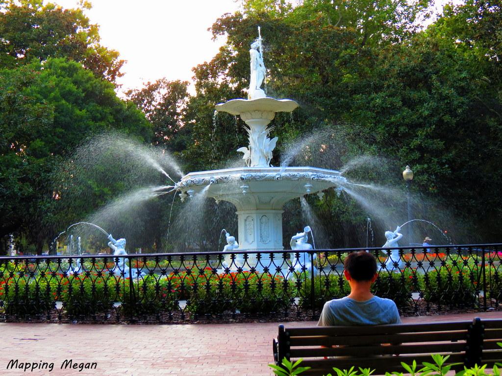 Forsyth Park, Savannah.