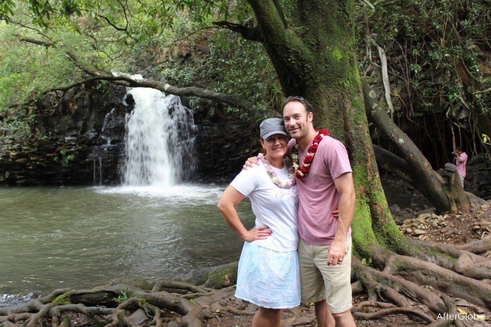 Kimmy and Drew on the beautiful island of Maui.