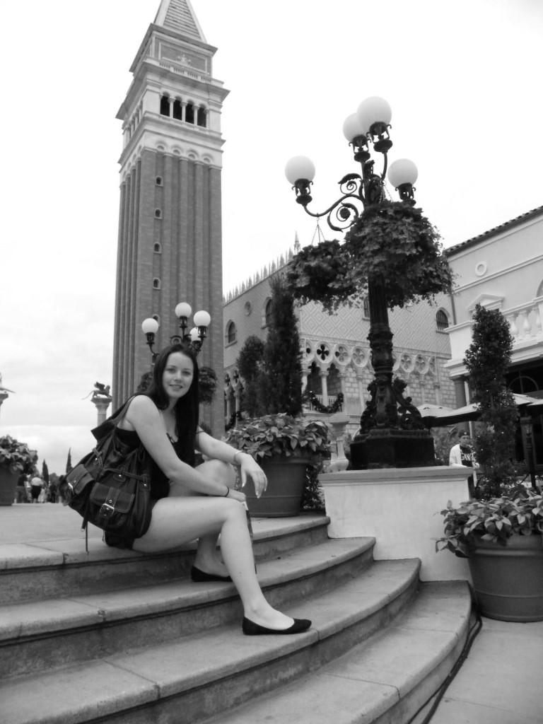 Spending time in Venice...in Disneyland, Florida!