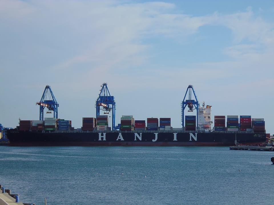 Ship in dock at La Spezia - Italy
