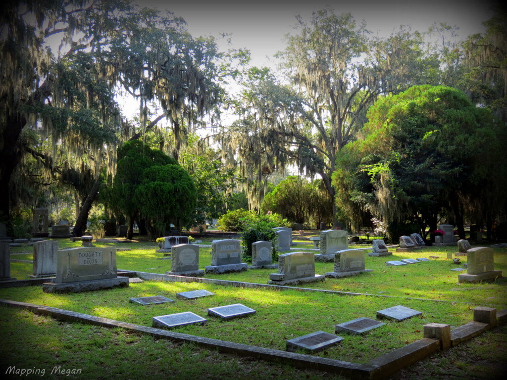 Bonaventure Cemetery.  Hauntingly Beautiful.