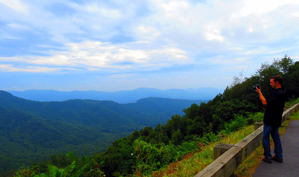 Photographing the Blue Ridge Mountains