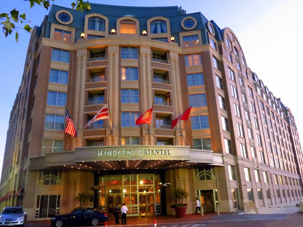 The Mandarin Oriental Washington DC.  We're fans!