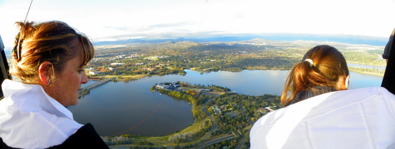 Gorgeous views over the Australian Capital Territory.