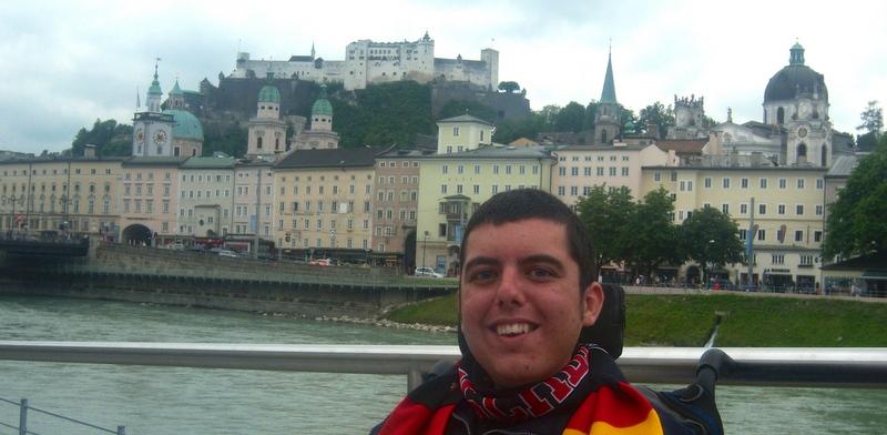 Exploring Salzburg, Austria.