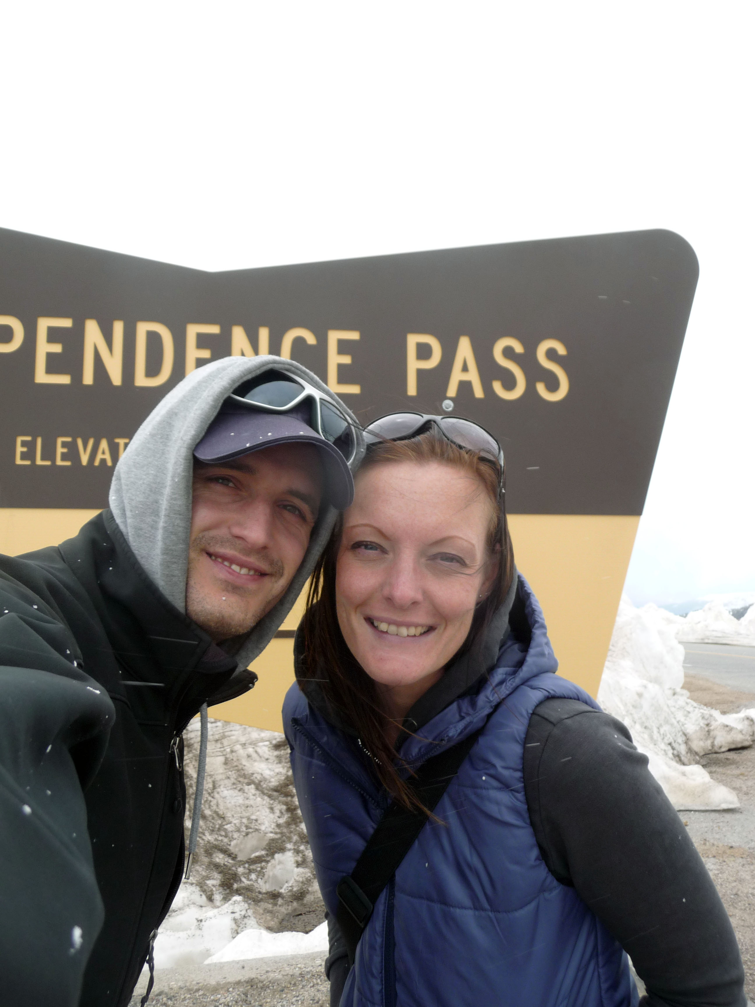 Antonette of we12travel. Independence Pass, Colorado.