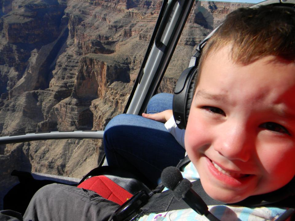 Malakai James Young.  Grand Canyon, USA!
