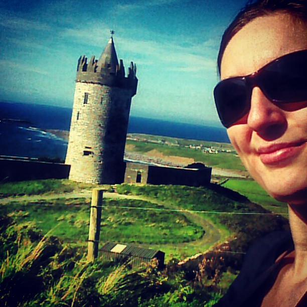 Nienke of The Travel Tester.  West Ireland.