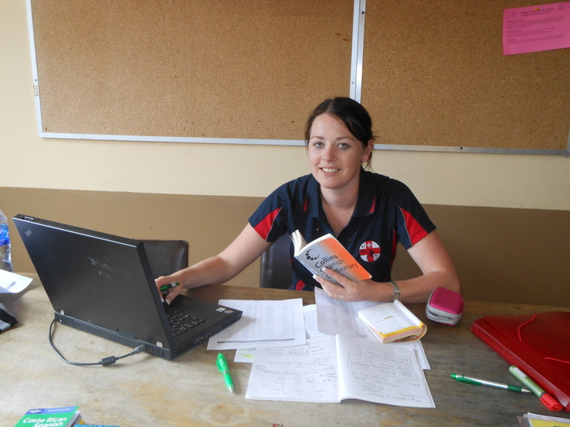 Learning a second language! Studying Spanish in Costa Rica.