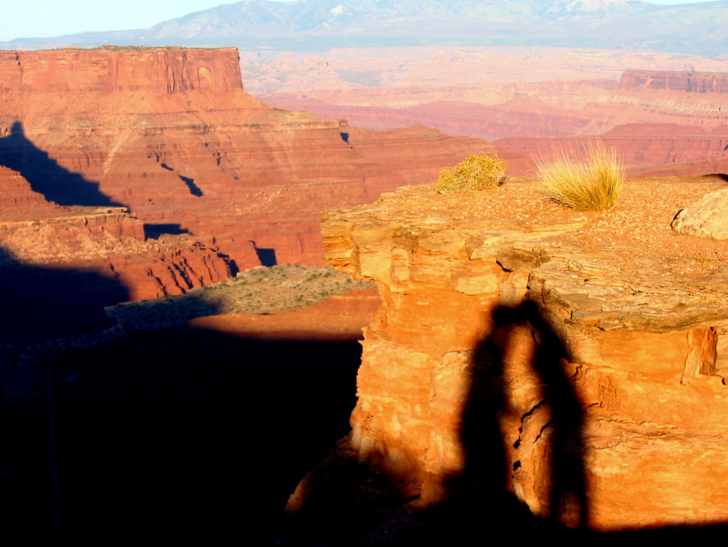 Silhouette of a kiss at Dead Horse Point State Park, Utah. Tamara and Donny of Turtles Travel.