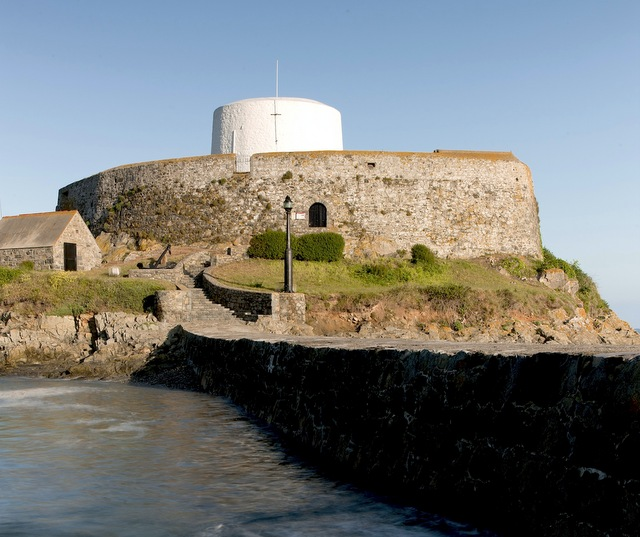 Fort Grey. Image courtesy of VisitGuernsey.