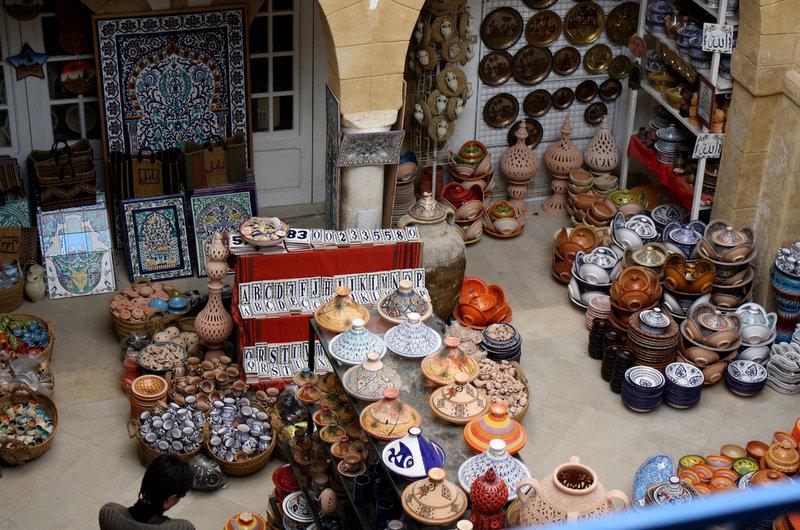 Tunisia Pottery