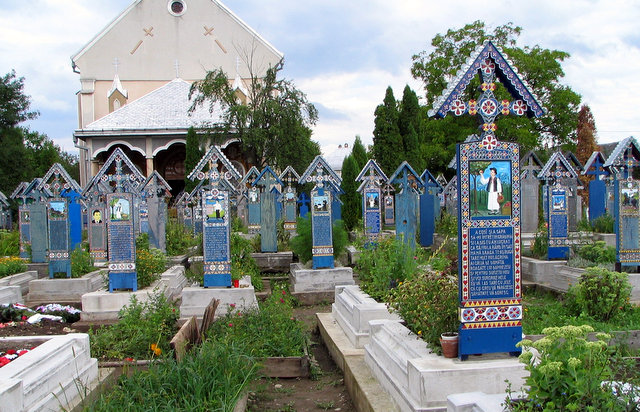 Săpânța, The Merry Cemetery