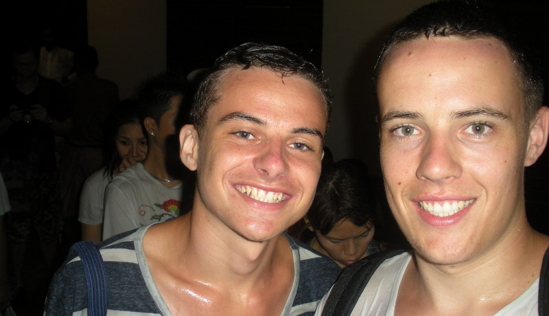 Jamie and Murdoch.