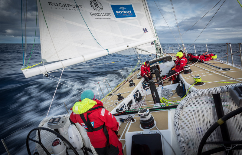 Sailing the Southern Ocean - Clipper Round the World Yacht Race 13/1.