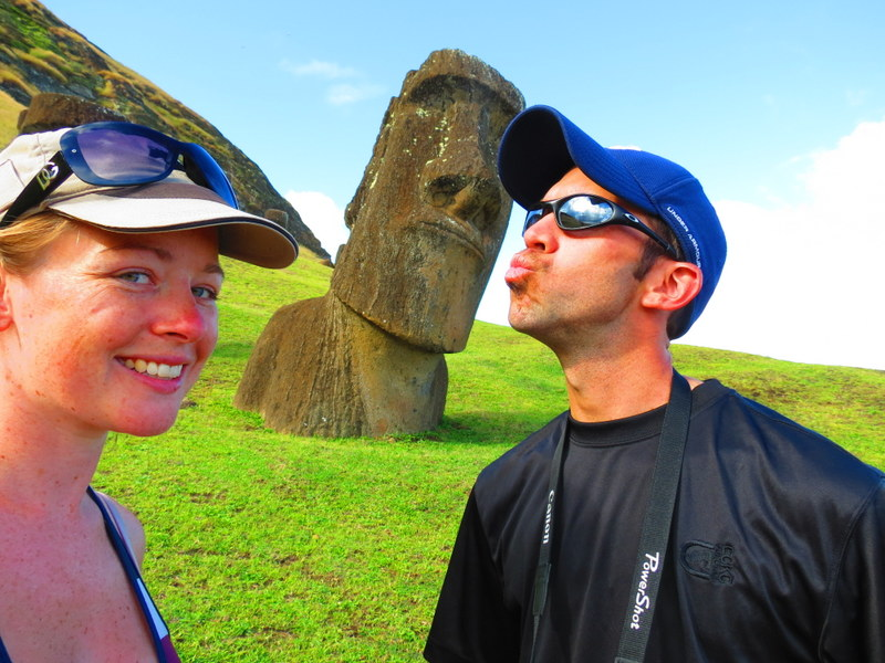 Easter Island selfie!