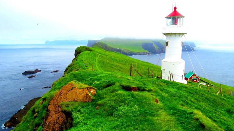 Mykines Lighthouse.