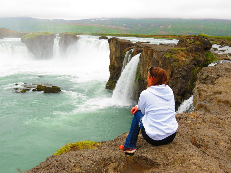Godafoss, Iceland. A worthy detour, only a short drive off the Ring Road.