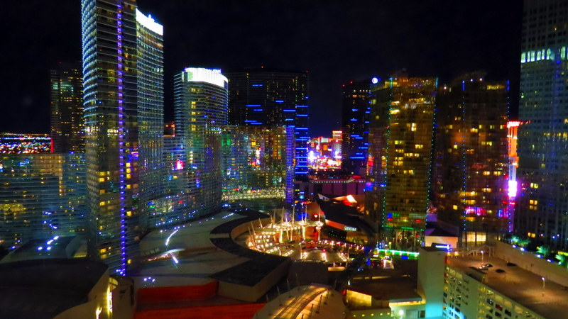 View of the Vegas skyline