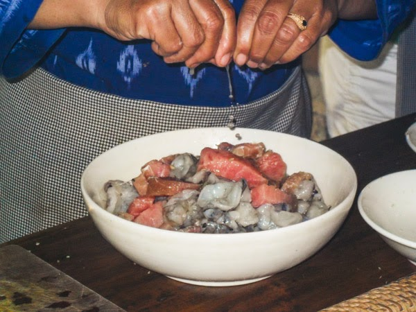 bali_cooking_class_fresh_tuna_shrimp_lime_juice