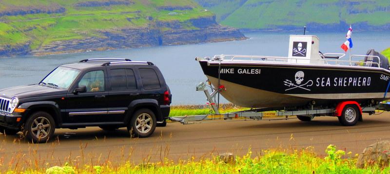 Sea Shepherds in the Faroe Islands.