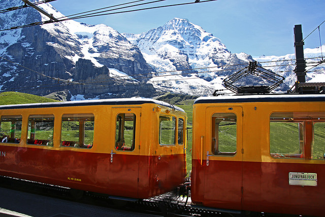 Jungfraujoch Railway.