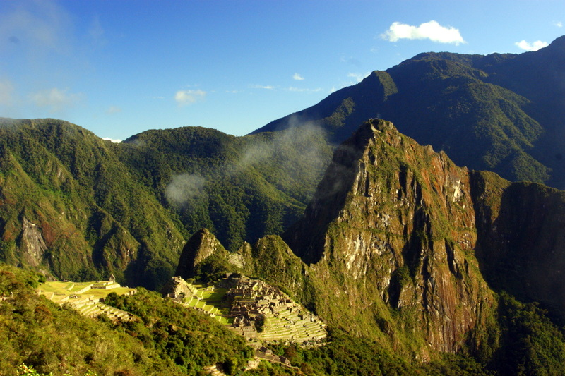 Travelers trekking the Inca Trail should be aware of altitude sickness.