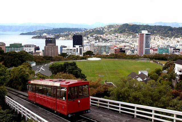 Wellington NZ Cable Car