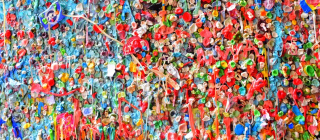 Snapshot From the Road: Seattle's Gum Wall