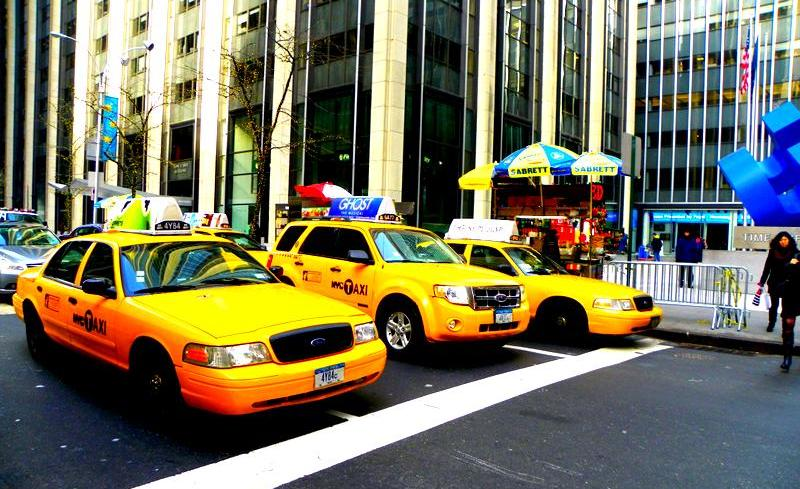 New York City Cabs.
