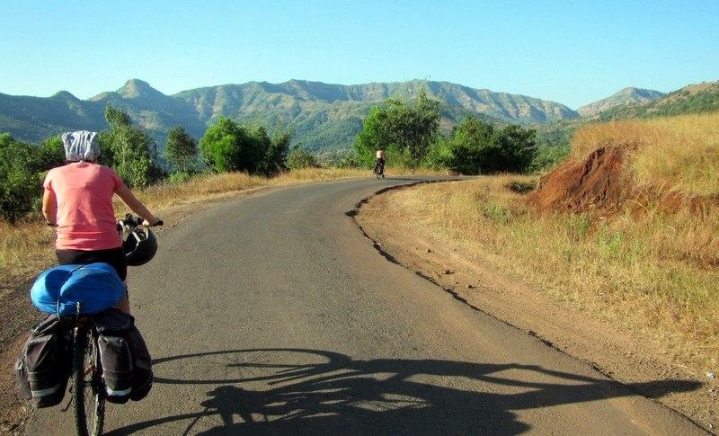 Cycle around India.
