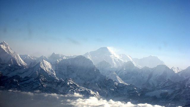 Views of the Himalayas