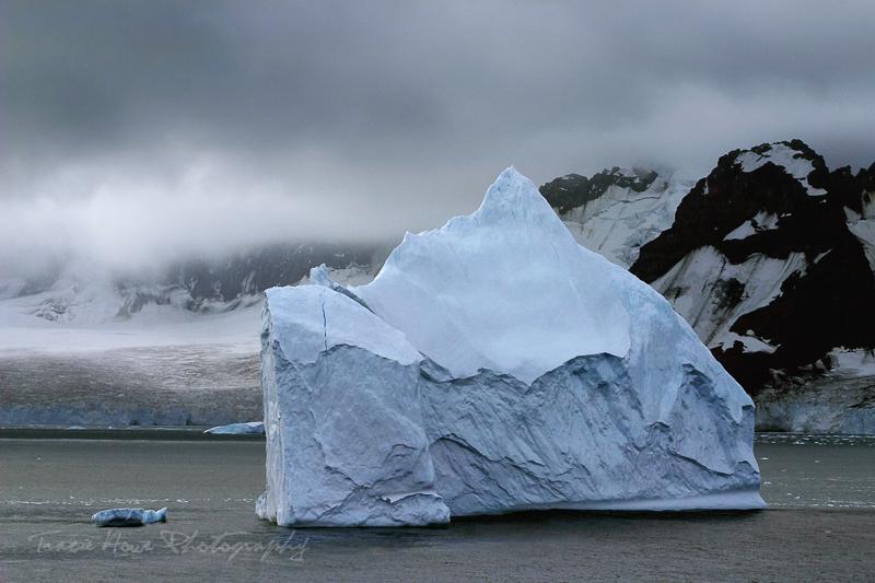 Antarctica iceberg.