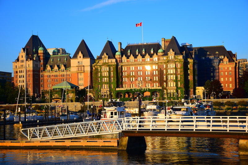 The Fairmont Empress Victoria BC