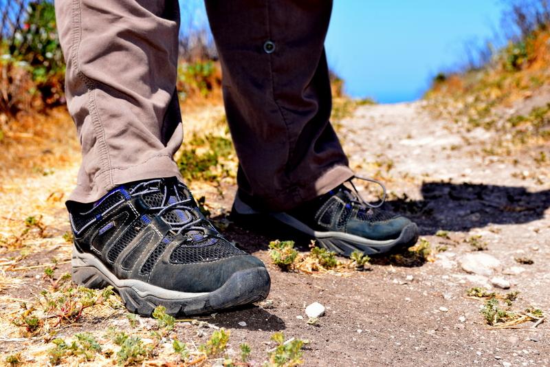 Hiking the Channel Islands in Jambu.
