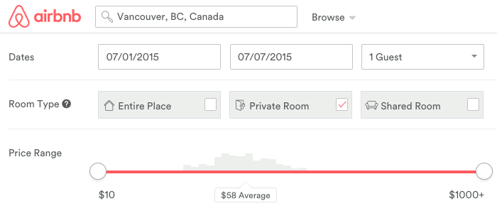 Booking with Airbnb