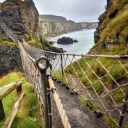 She Travels Without Sight: Crossing Ireland's Carrick-a-Rede Rope Bridge Blind