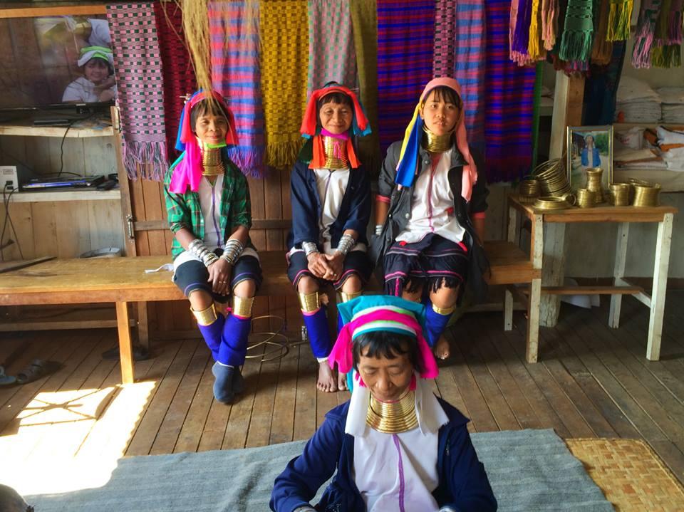 Long necked women of Inle Lake