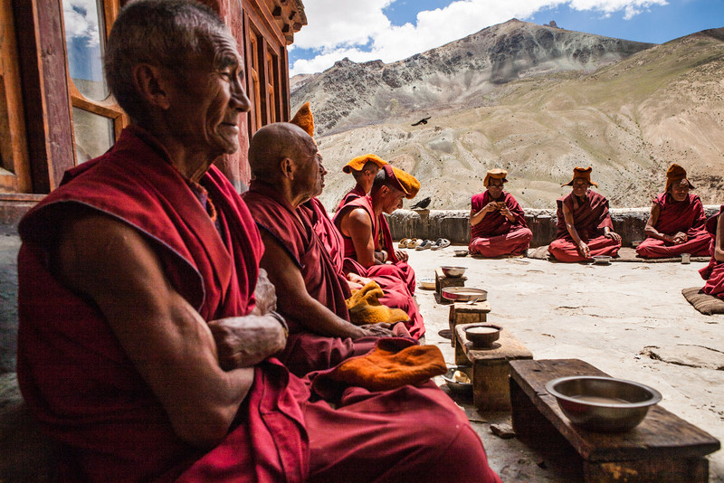 5 Secluded Buddhist Monasteries in India