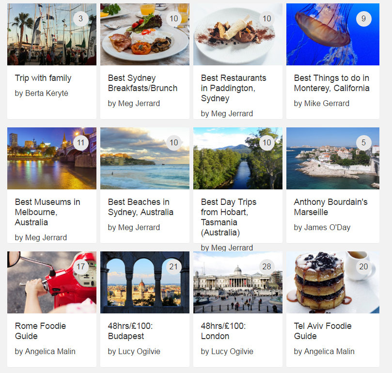 Because Pearlshare have established a large base of professional travel writers and other experts, I've found that even the guides from from strangers are reliable and consistently well-written