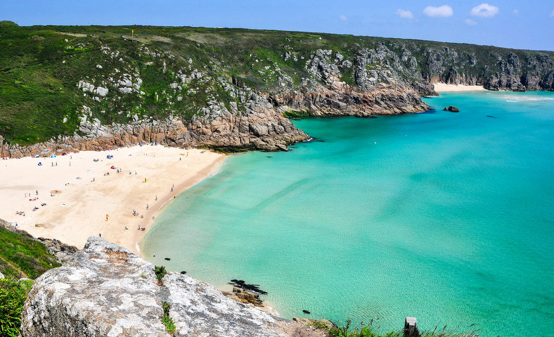 This beach is the UK's little slice of paradise.