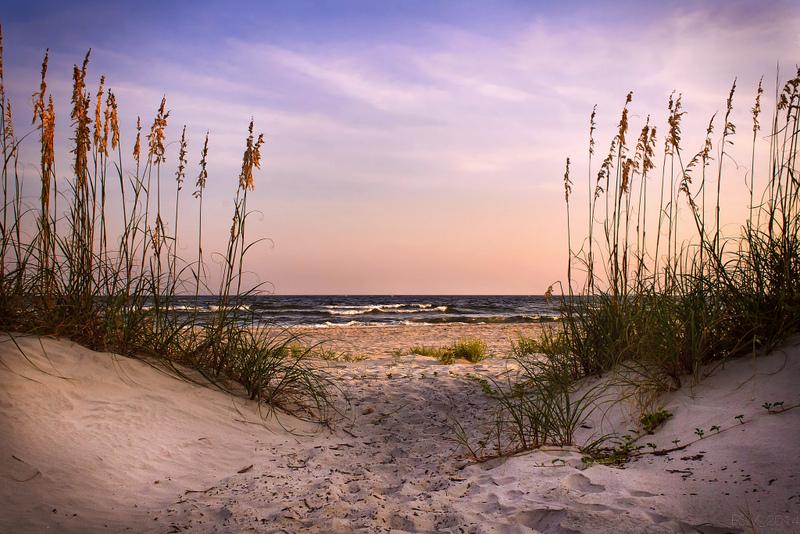 Sunset at Tybee Island