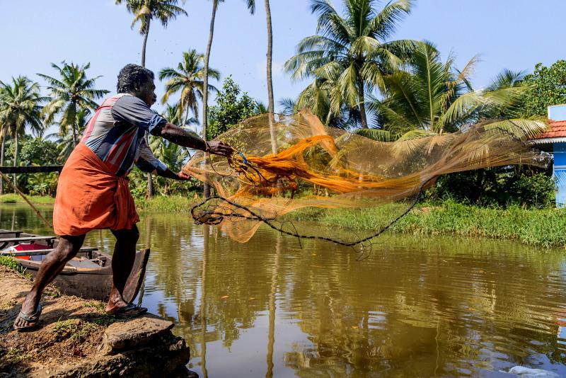 Kerala fisherman