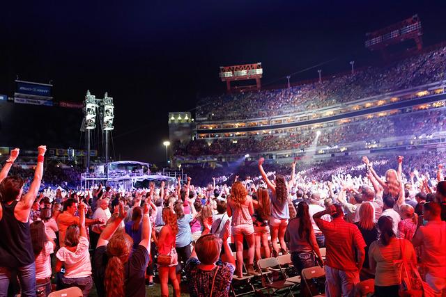 Nashville country music festival
