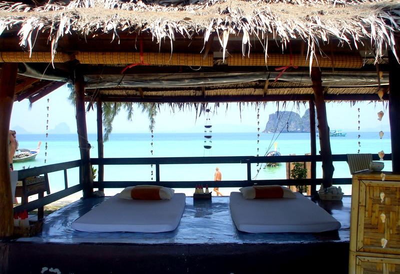 Thailand beach massage