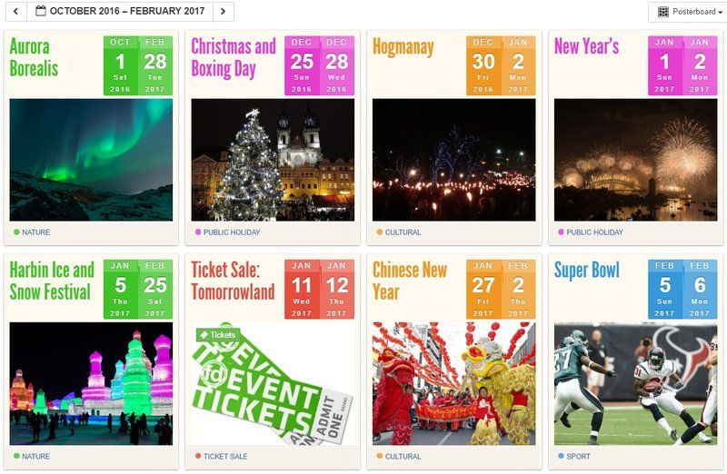 Year Calendar Events : You need to bookmark this new travel website now mapping