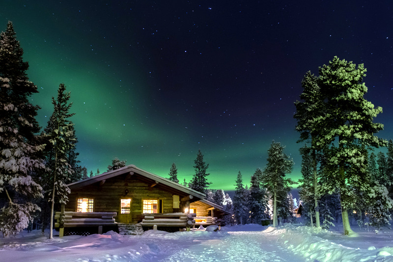 The Northern Lights, Finland